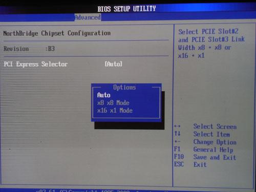 ASUS P6X58D Premium распределение PCI-E линий