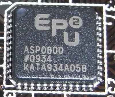 ASUS P6X58D Premium EPU