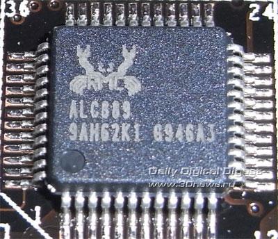 ASUS P6X58D Premium звук