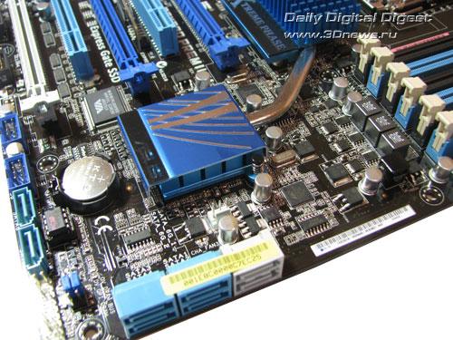 ASUS P6X58D Premium угол