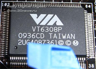 ASUS P6X58D Premium контроллер FireWire