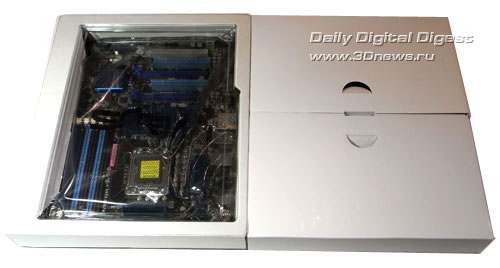 ASUS P6X58D Premium коробки