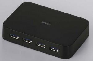 USB 3.0 хаб Buffalo BSH4A03U3 чёрный