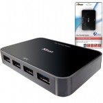 Хаб Trust SuperSpeed 4 Port USB 3.0 Hub