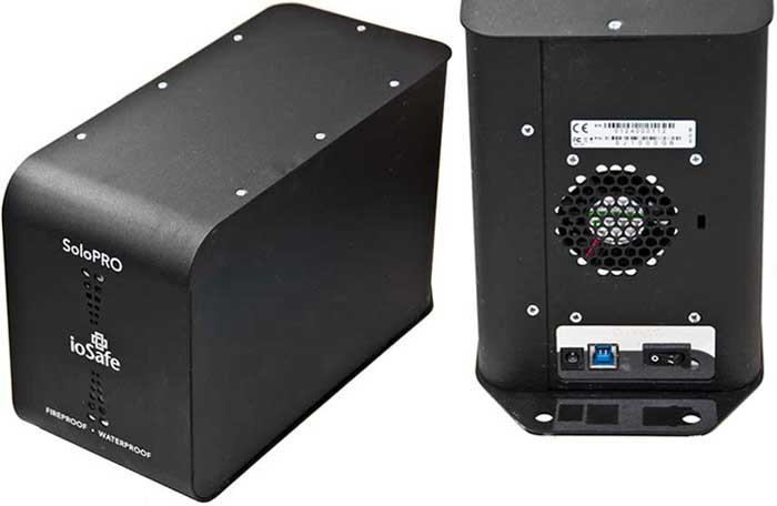 Защищённый накопитель с USB 3.0 ioSafe SoloPro