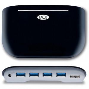 Хаб LaCie USB 3.0 Hab4 - вид сверху