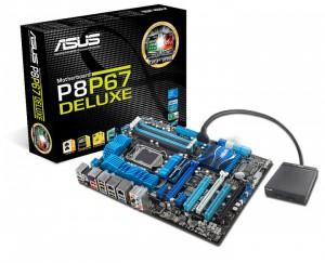 Обзор платы ASUS P8P67 Deluxe