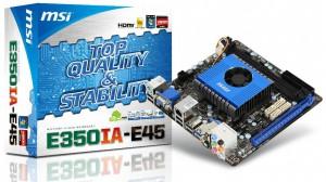 Mini-ITX плата MSI E350IA-E45