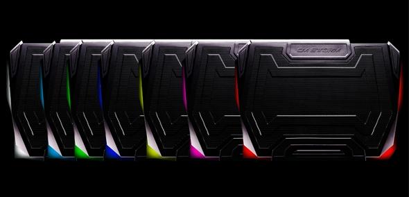 Кулер Strike Force - 7 цветов подсветки на выбор