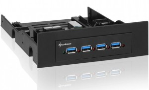 Sharkoon Internal 4 Port USB 3.0 Hub