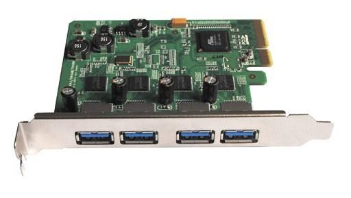 Контроллер USB 3.0 HighPoint RocketU 1144AR - порты