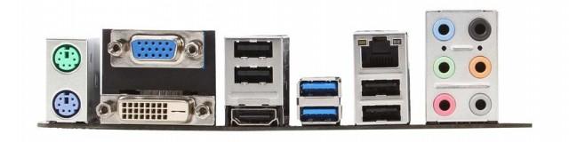 MSI A75A-G55 - порты ввода-вывода