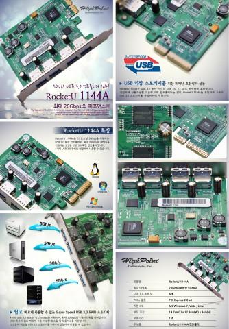 Промо-материалы контроллера RU1144A