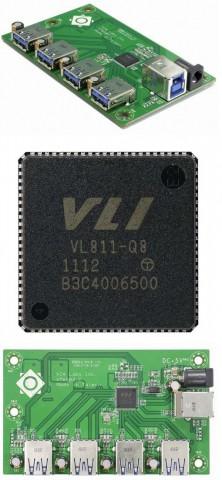 Контроллер VIA Labs VL811