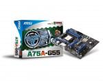 Материнская плата MSI A75A-G55